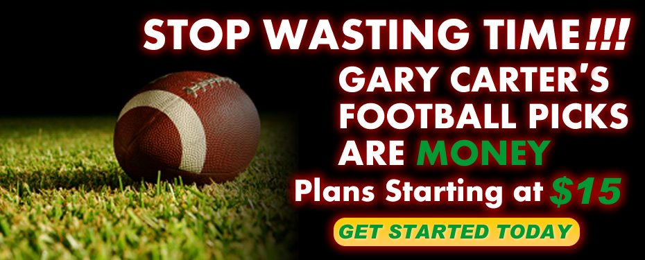 Gary Carter Football Sports Handicapper